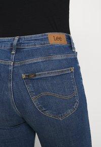Lee - SCARLETT HIGH - Jeans Skinny Fit - mid worn martha - 4