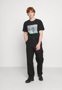 Vintage Supply - VINCENT ART PRINT TEE - Print T-shirt - black - 1