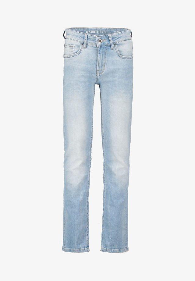 TAVIO - Jean slim - blue denim