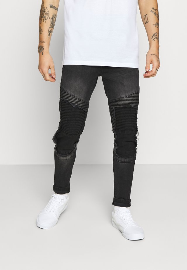 BLAKE - Jeans Skinny Fit - charcoal
