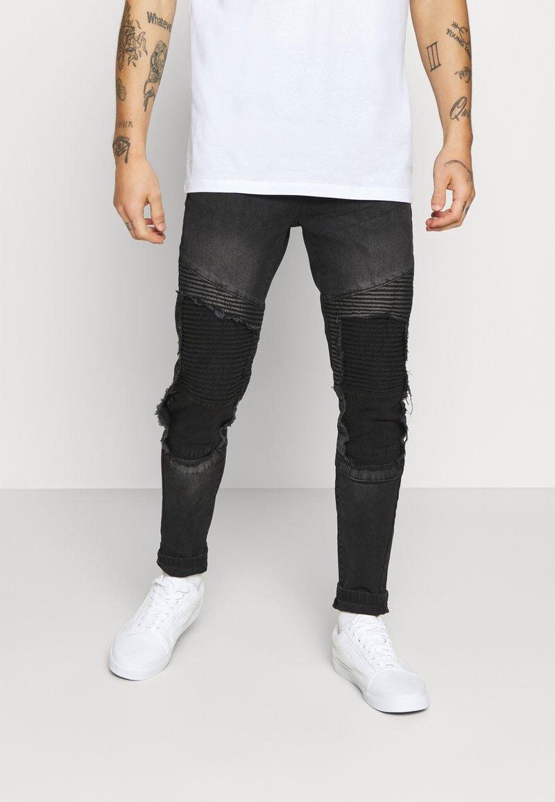 Brave Soul - BLAKE - Jeans Skinny Fit - charcoal