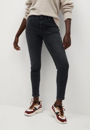 IRENE - Slim fit jeans - black denim