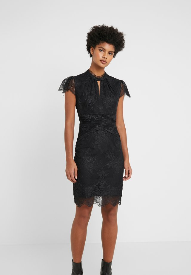 EXPRESSION DRESS - Cocktailkjole - black