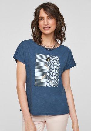 T-shirt imprimé - faded blue