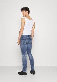 Replay - ANBASS AGED - Jeans Skinny Fit - medium blue - 2