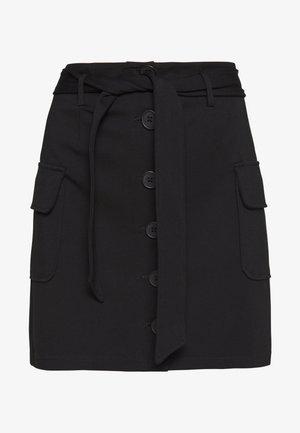 NMHIPE  - A-line skirt - black