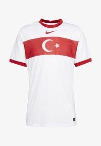 Nike Performance - TÜRKEI HOME - Landsholdstrøjer - white/sport red - 4