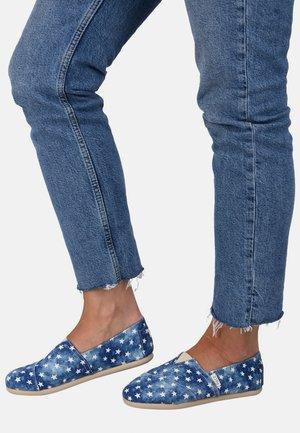 CLASSIC PRINT STARS - Espadrillas - blue
