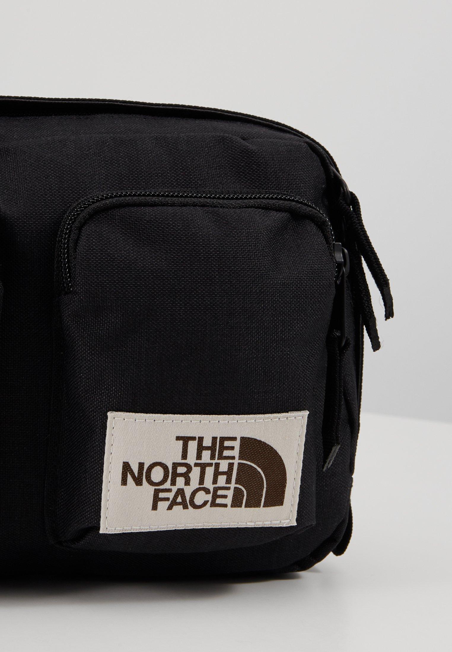 The North Face KANGA Skulderveske black heather Zalando.no