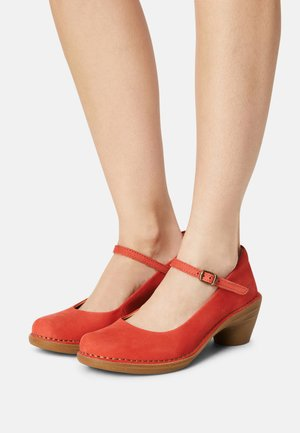 AQUA - Classic heels - coral