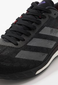 adidas Performance - ADIZERO BOSTON 9 - Competition running shoes - core black/signal pink - 5
