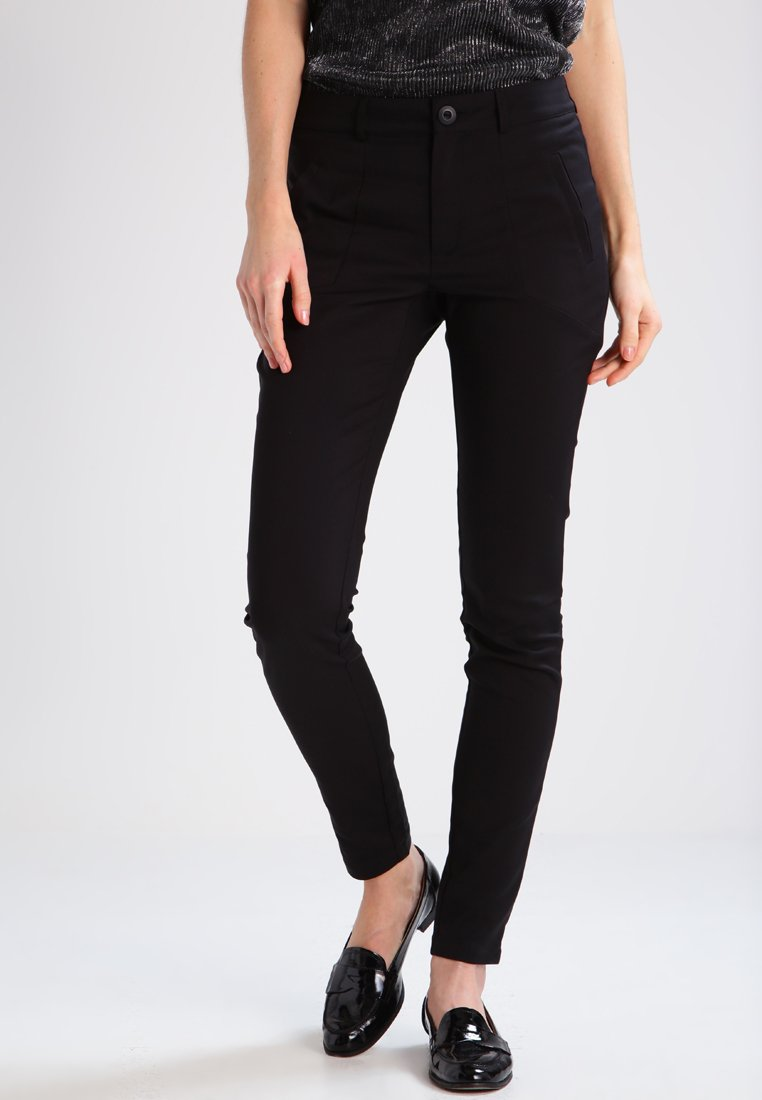 Kaffe - VERA - Trousers - black deep