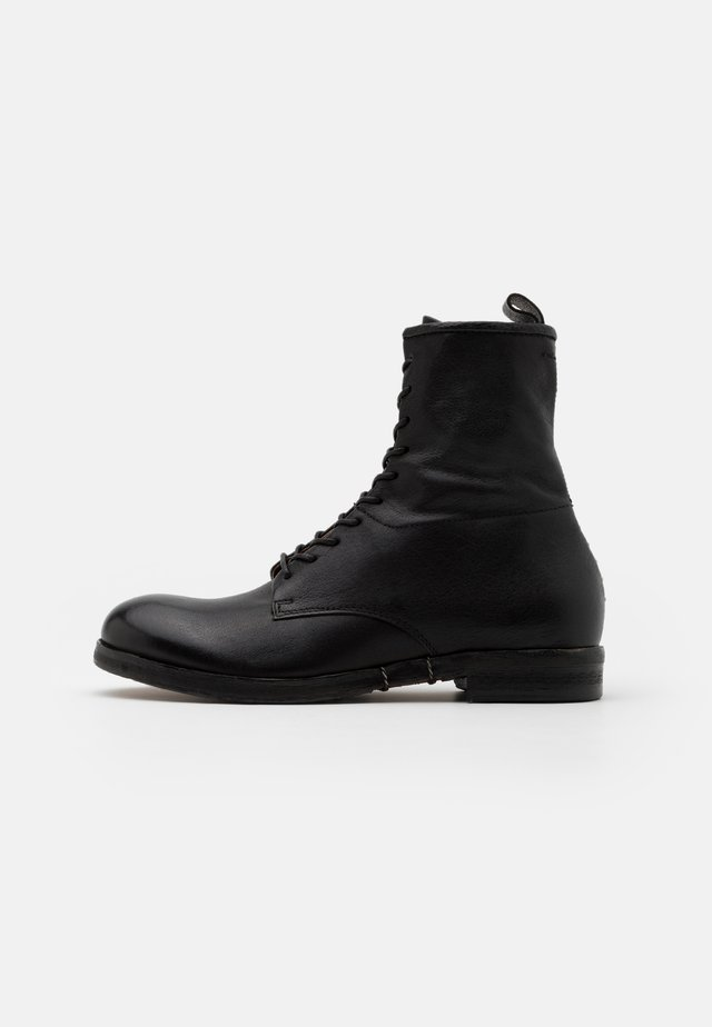 ACTON - Bottines à lacets - nero