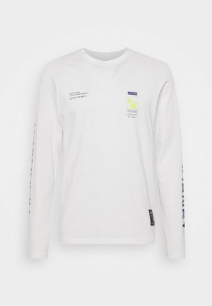 RRMUSA TEE - Pitkähihainen paita - offwhite