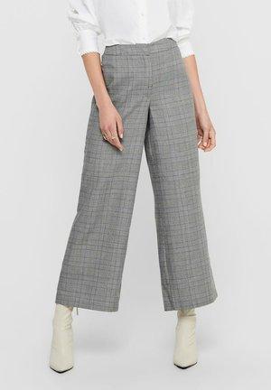 Pantalones - dark grey melange
