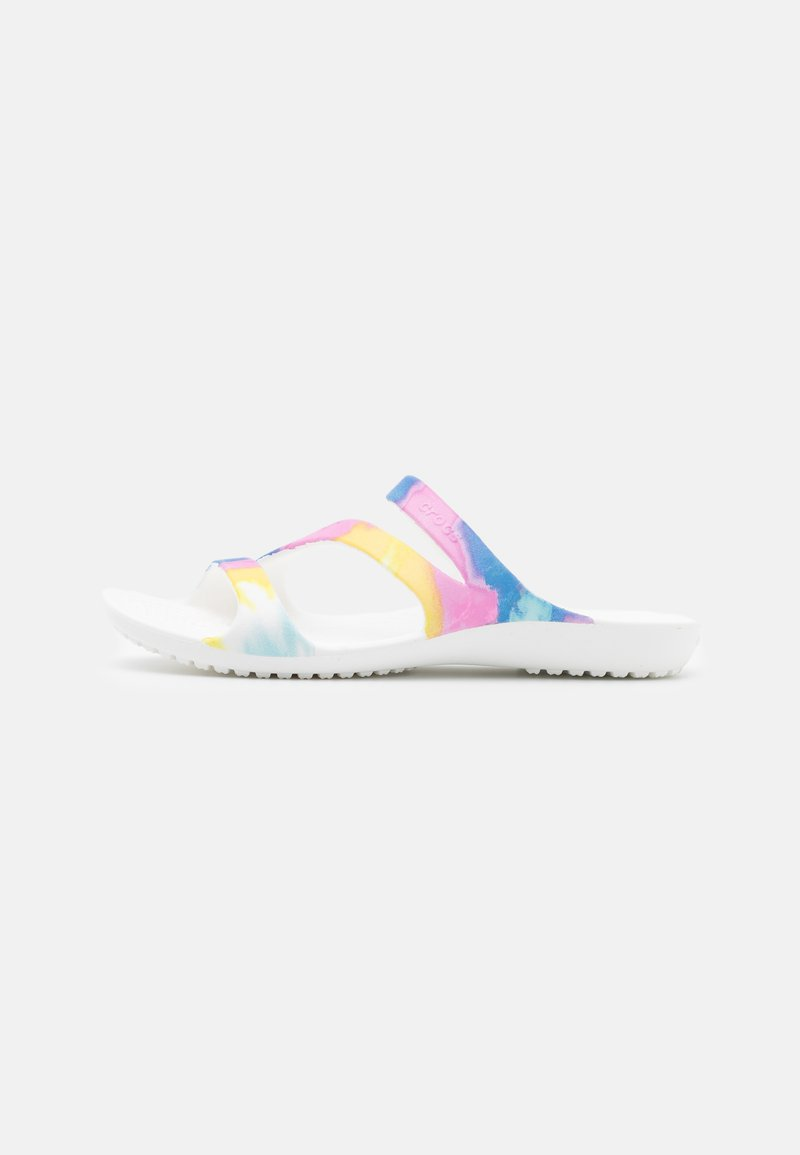 Crocs - KADEE II GRAPHIC  - Mules - multicolor/white
