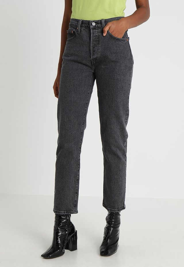 501 CROP - Straight leg jeans - dancing in the dark