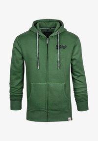 Spitzbub - NORMAN - Zip-up sweatshirt - green - 0