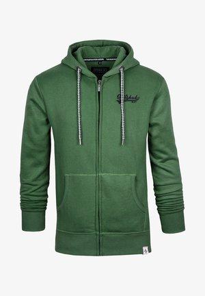 NORMAN - Zip-up hoodie - green