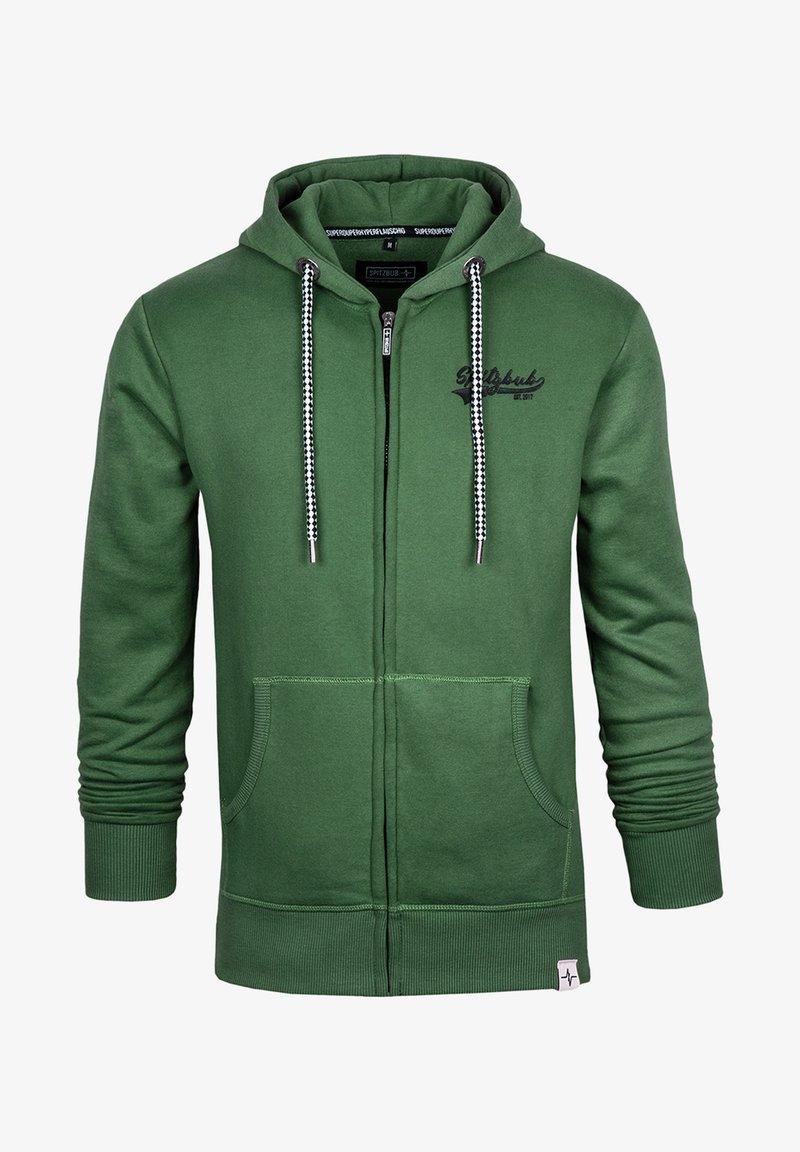 Spitzbub - NORMAN - Zip-up sweatshirt - green