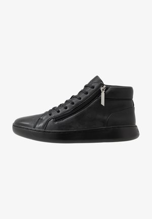 FRANSISCO HIGH TOP LACE UP - Korkeavartiset tennarit - black