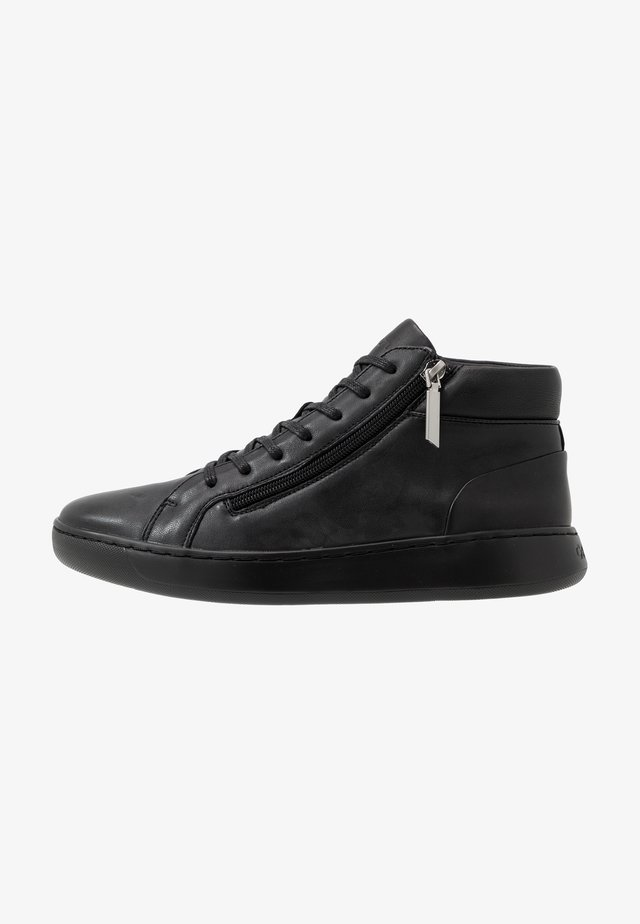 FRANSISCO HIGH TOP LACE UP - Sneakers alte - black