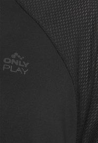 ONLY Play - ONPNELL TRAINING TEE - Print T-shirt - black - 2