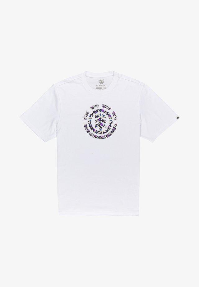 MAPLE ICON  - T-shirt con stampa - optic white