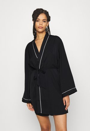 AMANDA DRESSING GOWN  - Albornoz - black