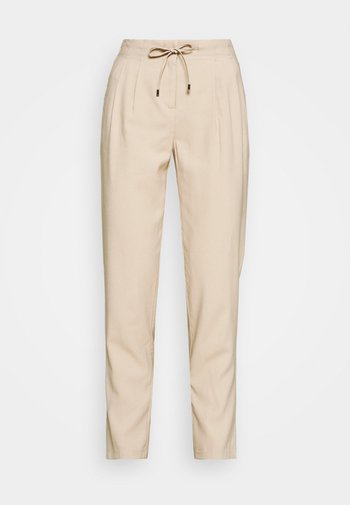 ONLAIA  STRING PANT - Trousers - white pepper