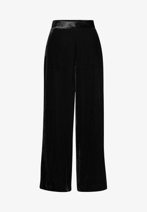 YUKKA WHIN - Kalhoty - black
