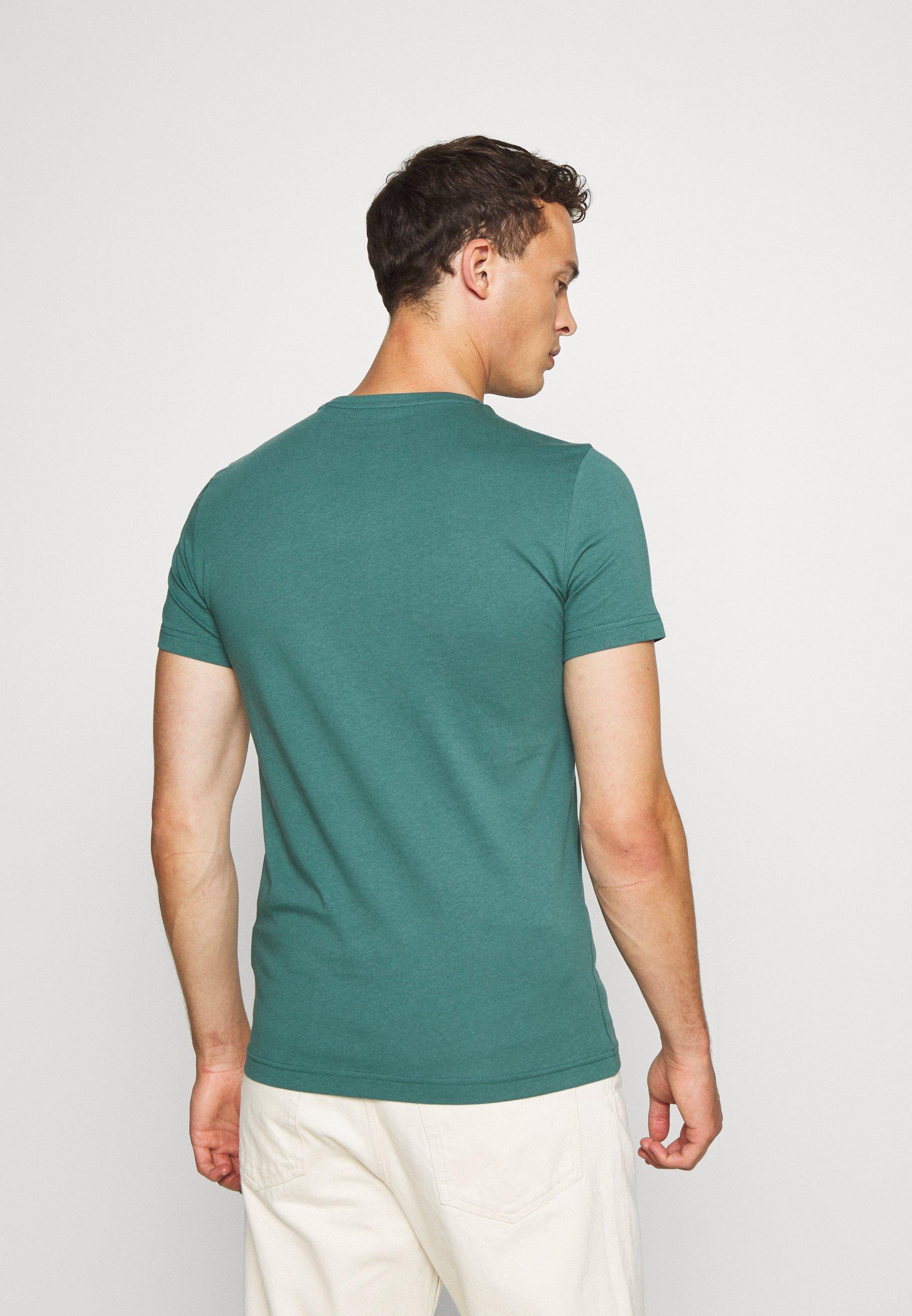 Mustang AARON  - Print T-shirt - mallard green LU6lT