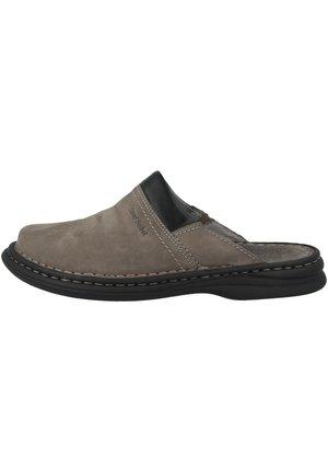 SCHUHE MAX - Muiltjes - asphalt combi (10663-751-781)