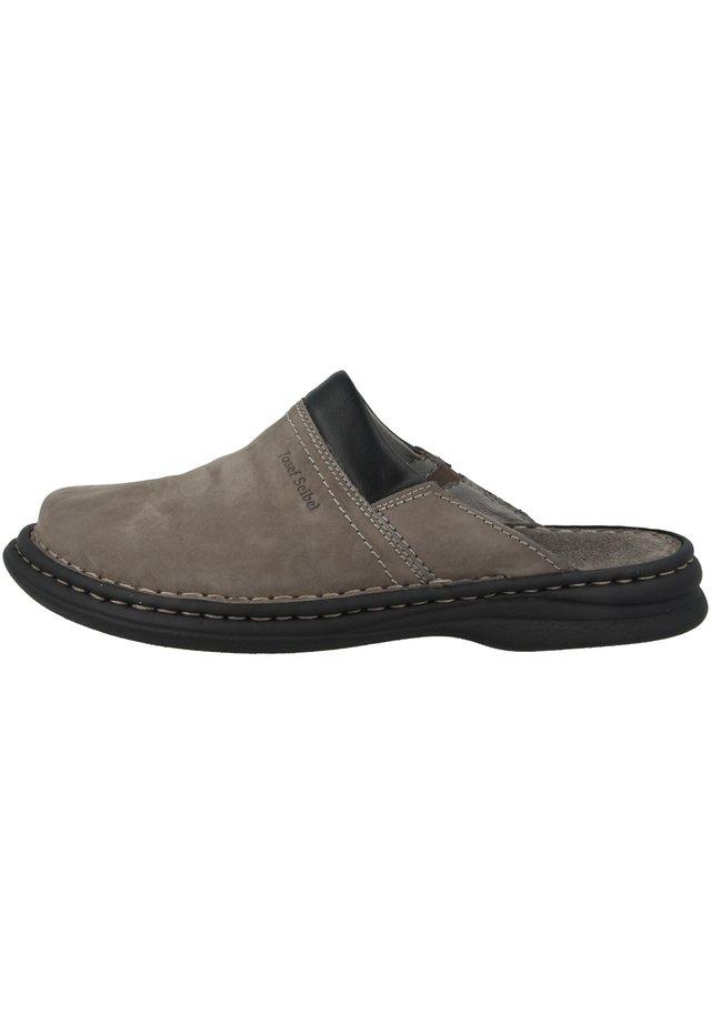 SCHUHE MAX - Mules - asphalt combi (10663-751-781)