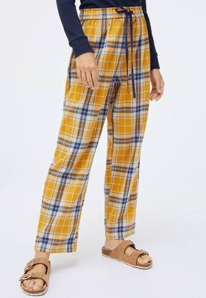 Pyjama bottoms - mustard yellow
