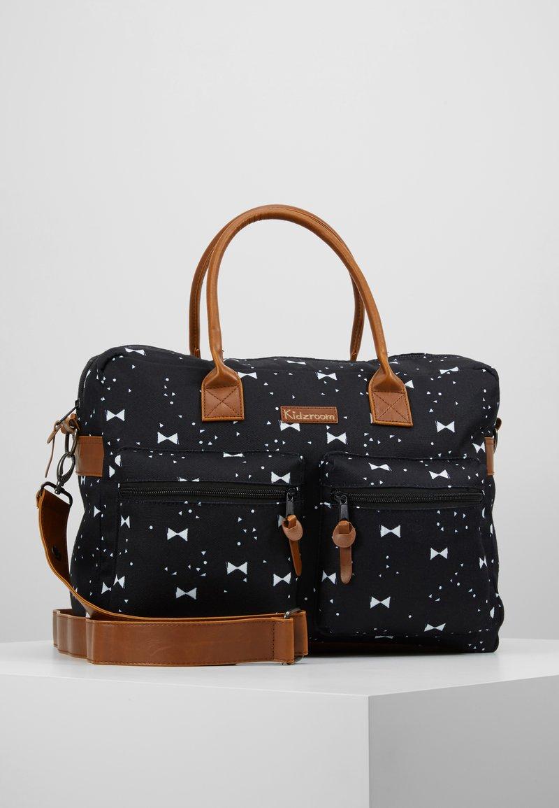 Kidzroom - DIAPERBAG - Baby changing bag - black