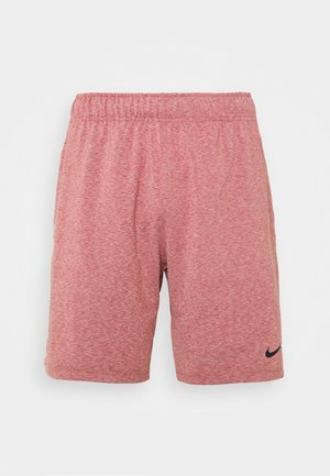 DRY SHORT - Pantalón corto de deporte - claystone red/heather/black