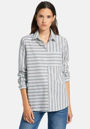 Skjortebluser - weiß/blau/multicolor