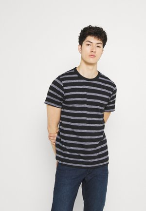 JCOCOUNTS TEE CREW NECK - Print T-shirt - black