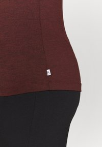 Calvin Klein Golf - KAHN ZIP NECK - Top sdlouhým rukávem - blackberry - 5