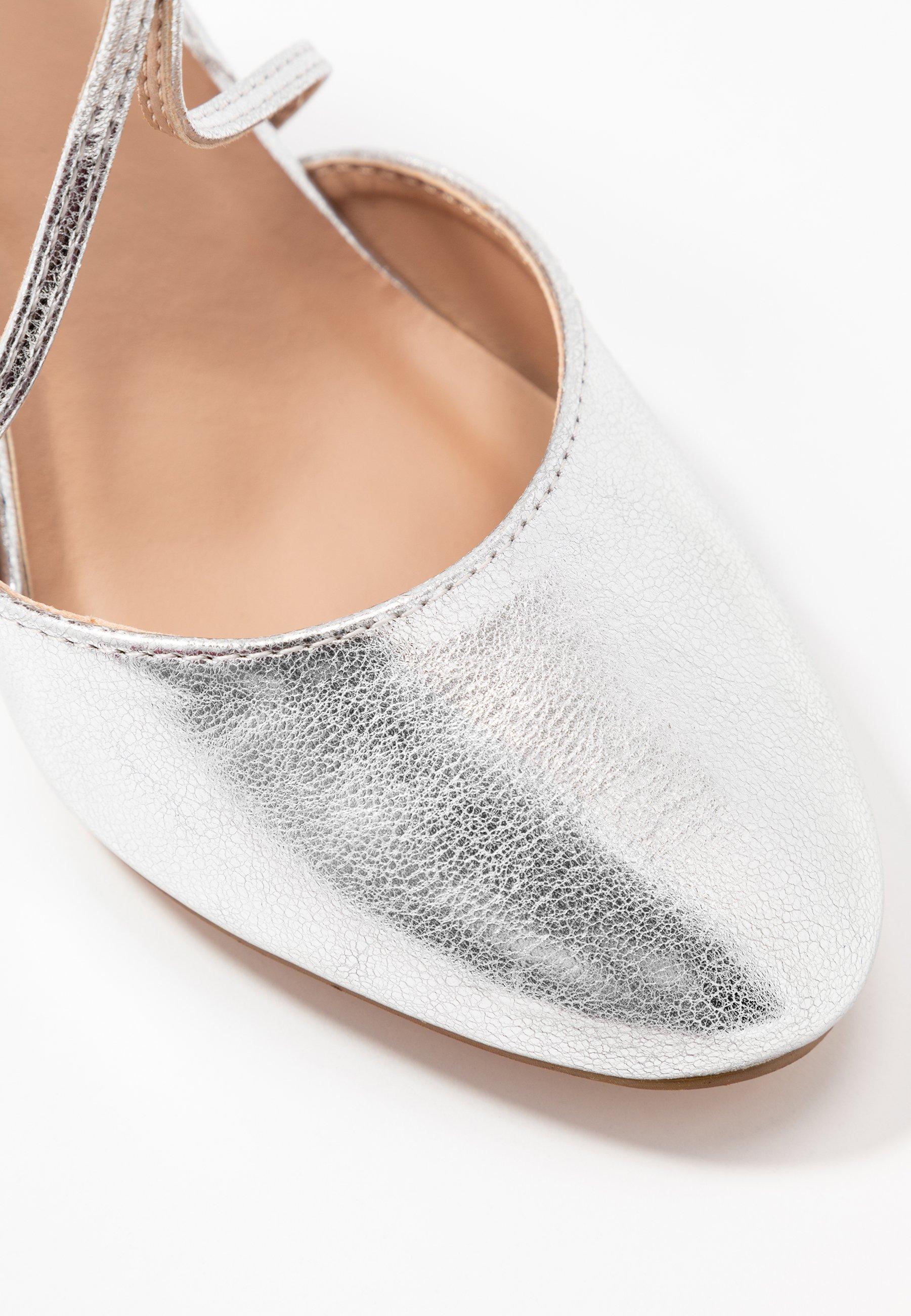 Anna Field Høye Hæler - Silver/sølv