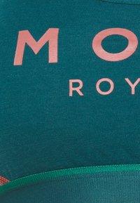 Mons Royale - STELLA X BACK BRA - Sport-BH mit leichter Stützkraft - deep teal/pink clay - 2