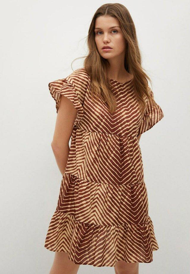 Sukienka letnia - marron