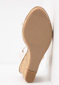 New Look Wide Fit - WIDE FIT PILAR  - Sandály na vysokém podpatku - offwhite - 6