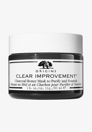 CLEAR IMPROVEMENT™ CHARCOAL HONEY MASK TO PURIFY & NOURISH - Face mask - -