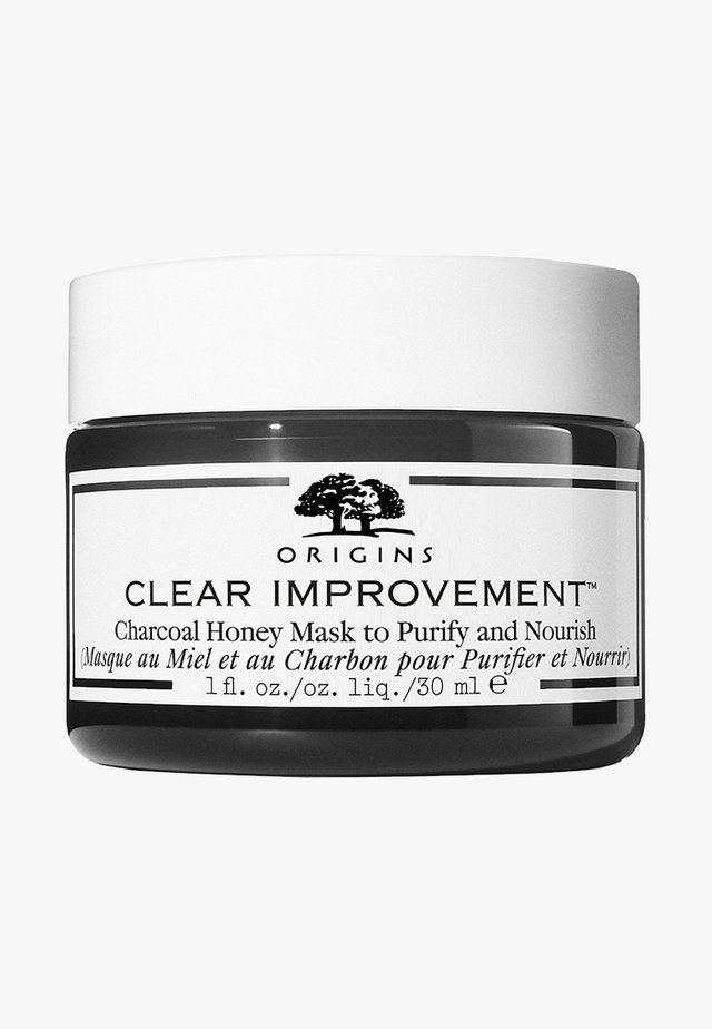 CLEAR IMPROVEMENT™ CHARCOAL HONEY MASK TO PURIFY & NOURISH - Gesichtsmaske - -