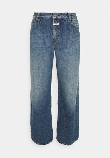 NOLIN WIDE LEG - Relaxed fit jeans - dark blue
