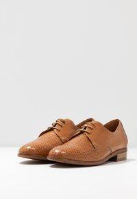 Everybody - Zapatos de vestir - tobacco - 4