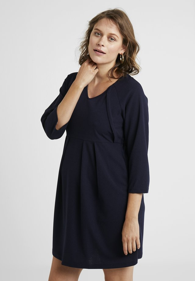 DALEYZA DRESS - Trikoomekko - indigo navy