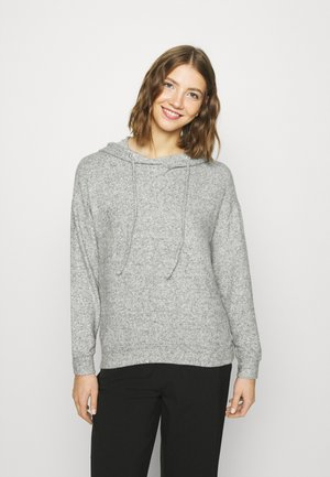 ONLFANDY LOUNGE HOODIE - Jumper - light grey melange